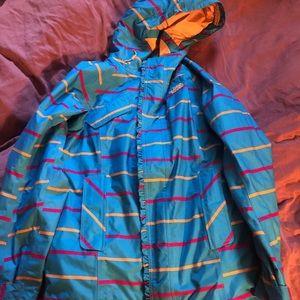 THE NORTH FACE Ski Jacket Zip Up winter coat